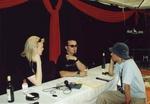 Beim Interview mit Apocalyptica